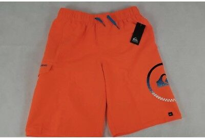 d5efbf756c QUIKSILVER BOYS SWIM Trunks Board Short Mesh Lined Yellow Pocket ...