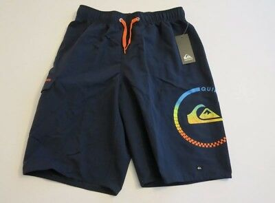 076390aaee QUIKSILVER BIG BOYS XL Board Swim Trunks Shorts Mesh Lined Neon Lime ...