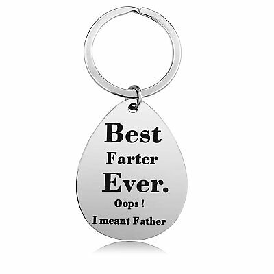 Keychain Gifts for Dad Father - Dad Gift Idea from Wife Daughter Son Kids Sta...