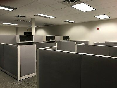 19 Used Haworth office cubicles in excellent condition.