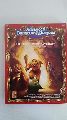 AD&D 2nd Edition Dungeons of Mystery A 3 Dimensional Game Accessory GR2 TSR 9365