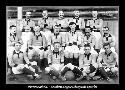 Retro/Photo/Photograph/1901/1902 Southern League Champions - Portsmouth