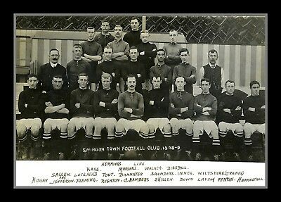 Retro/Photo/Photograph/1908/09 - Swindon Town Team Print
