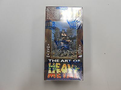 The Art of Heavy Metal 1995 trading card box! FACTORY SEALED NEW OLD STOCK!