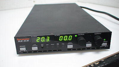 Sorensen DLM 20-30 600W Programmable Power Supply w/ GPIB