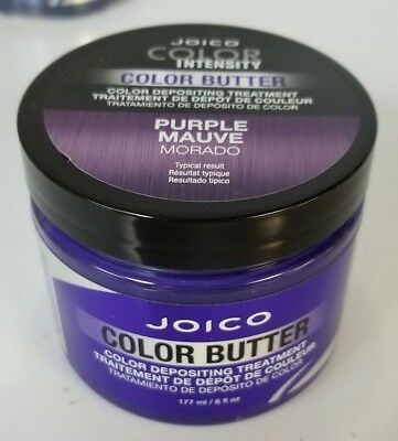 New Sealed Joico Color Intensity Color Butter Depositing Treatment 6 oz PURPLE