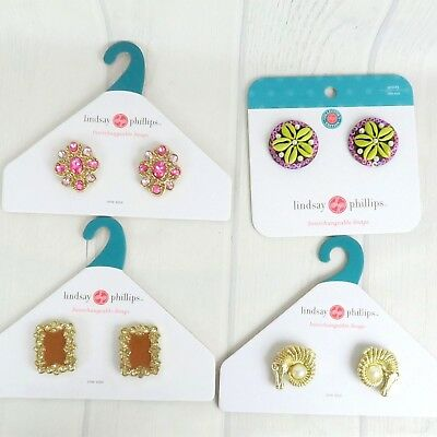 NEW Lindsay Phillips Snaps Shoe Accessory Charms