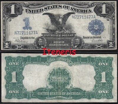USA $1 silver certificate large banknote 1899 (236) Speelman-White signatures