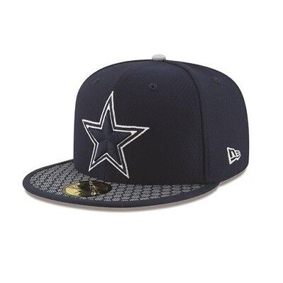 51561efdc Dallas Cowboys New Era 59FIFTY NFL On Field Sideline Fitted Cap 5950 Hat 7  3