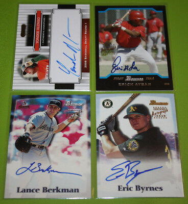 MLB Baseball Pack Pulled Authentic Autograph Auto | You Pick
