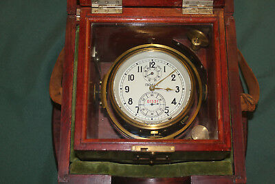 Russian Submarine Chronometer Clock