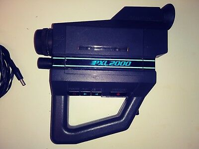 vintage fisher price pxl 2000 video camera pixelvision as is