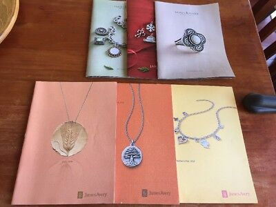 Lot Of 6 James Avery Catalogs '06 '09 '12 and '17