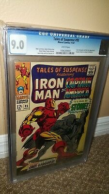 Tales of Suspense #95 CGC 9.0 - White pages - Grey Gargoyle & Nick Fury appear.