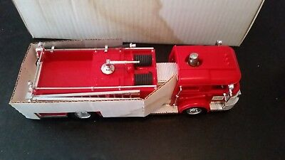 1970 Hess Fire Truck; Near-mint condition, Complete with Box and Inserts