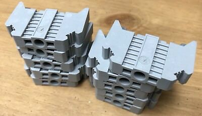Lot of 10  Phoenix Contact TYP E/NS 35N Terminal Block End Stops