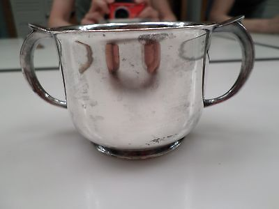 Armor Silver Co. Silver Cup - 2 7/16 Inches In Height - Some Tarnishing
