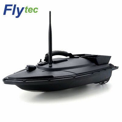 2011 - 5 Flytec Fishing Tool Smart RC Bait Boat Toy 500m Remote Control 5.4km/h