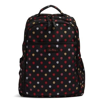 Vera Bradley Backpack Baby Diaper bag Havana Dots