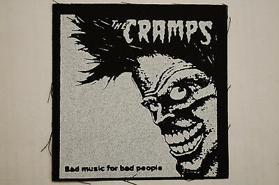 "Cramps Cloth Patch Sew On Badge Adicts Punk Rock Music Approx. 4""X4"" (CP220)"