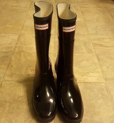c1829db5b6 JIMMY CHOO HUNTER Rain Boot Knee High Rubber Waterproof Wellington ...