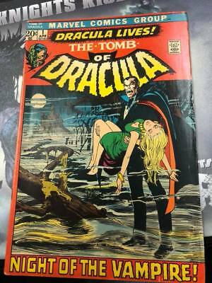 The Tomb of Dracula 1 VG/VF (5.5-6.5)