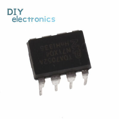 TDA7052AT SMD INTEGRATED CIRCUIT-IC AMP AUDIO 1.1W MONO AB 8SOIC LOT OF 2