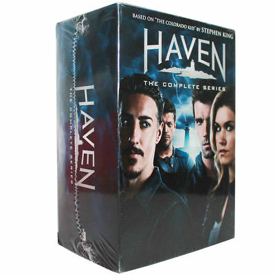 Haven: The Complete Series Seasons 1-6 (DVD,2016,24-Disc Set) Brand New Sealed