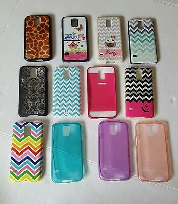 Samsung Galaxy s5 cases lot of 12