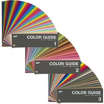 New DIC Japanese Color Guide Ver 20 Current Edition 1 2 3 Pantone PMS