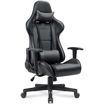 Homall Gaming Chair Racing Computer Chair High Back Office Chair Pu Leather Desk