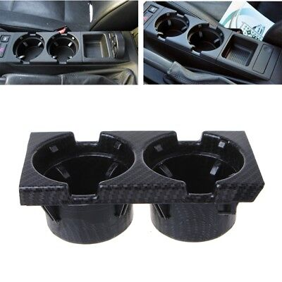CT Front Center Console Drink Bottle Cup Holders Containers For BMW E46 3Series