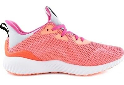 8c607a993 Adidas Alphabounce J Girl s Youth Size 7Y Running Shoes BY3433 Pink Peach