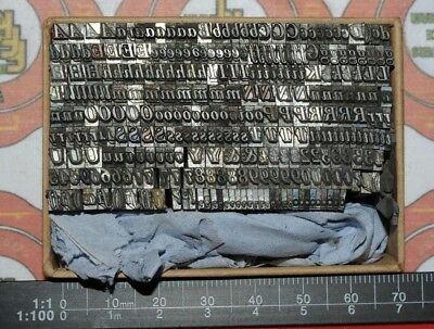 12pt Bodoni Italic Odds  Metal  Letterpress Type   #  Adana user  #