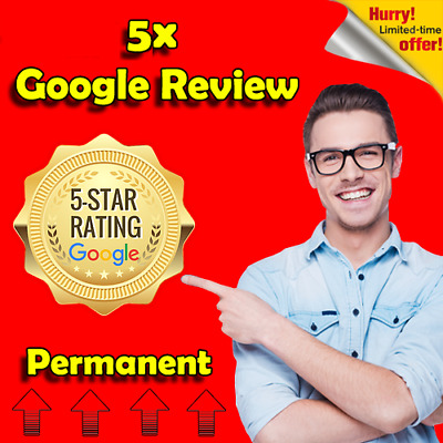 5 x Google Reviews  | Fast Delivery  | Good Qulity