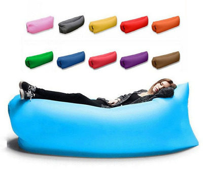 Beach Sofa Beds Camping Outdoor Pops Fast Inflatable Air Sleeping Bags Lazy Sofa