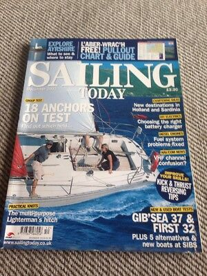 Sailing Today Magazine Issue 80 December 2003 Gibsea 37 & First 32