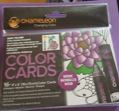 Chameleon Color Cards - Nature 16 4x6in cards