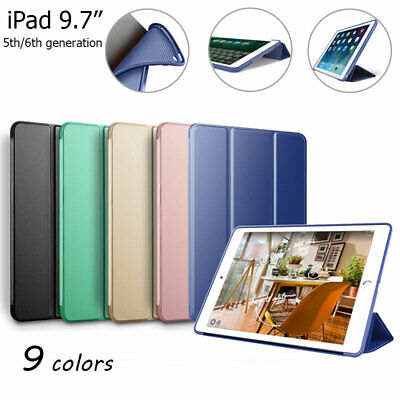 "Shockproof Smart Cover Soft Case for iPad 9.7"" 5th 6th Gen 2018/2017 Auto Sleep"