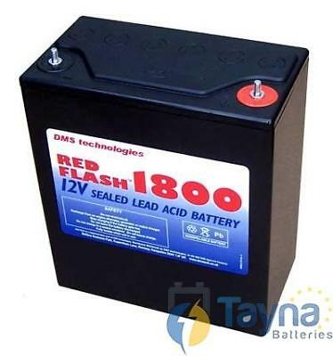 Red Flash 1800 Batterie