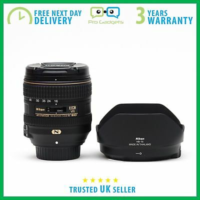 New Nikon AF-S DX NIKKOR 16-80mm f/2.8-4E ED VR Lens Kit Lens - 3 Year Warranty