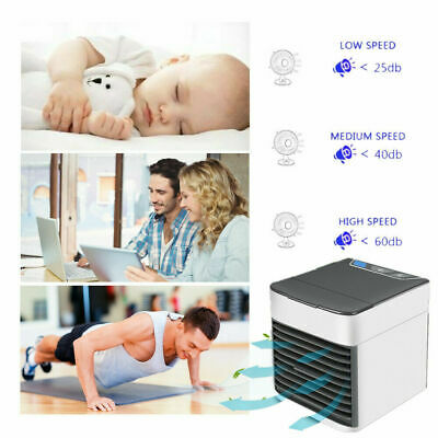 Nuovo Ice Air 3 In 1 Rinfrescatore  Umidificatore Purificatore Ventilatore  Usb