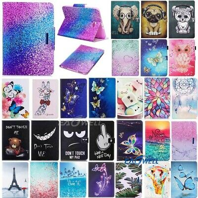 "AU Leather Cover Case For Samsung Galaxy Tab A 7 8.0 10.1"" Tablet T355 T380 T580"