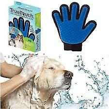 True Touch Dog Glove. Gentle Grooming And Massage For Dog Satisification