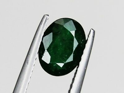 Natural Emerald Oval 8x6mm 1.14ct Loose Natural Gemstone Afghanistan Rich Green