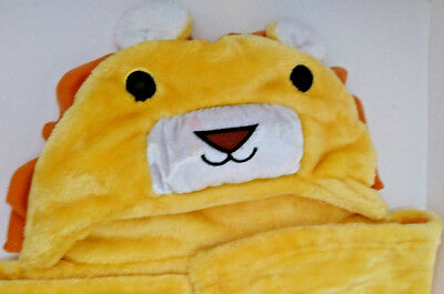 Lambs Ivy, Baby, Lion Hooded Towel, Yellow