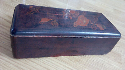 Vintage Japanese lacquered box