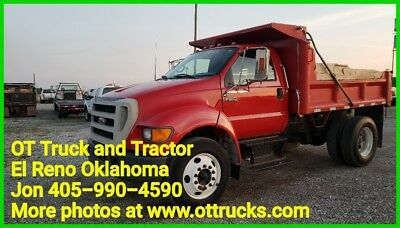2004 Ford F-650 F650 Dump Bed Manual Trans. Hydraulic Brakes NO CDL Needed