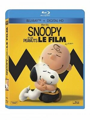 Snoopy et les peanuts le film BLU-RAY NEUF SOUS BLISTER