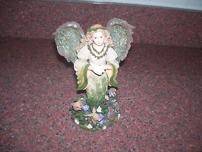 Boyds Charming Angel Collection Floramella Guardian Of Nature
